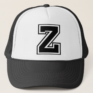"Letter ""Z"" monogram Trucker Hat"