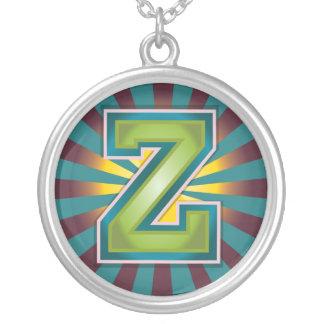 Letter 'Z' Pendant