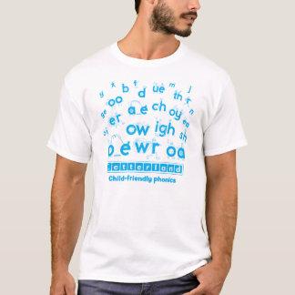 Letterland | Men's T-Shirt Cyan