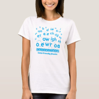 Letterland | Women's T-Shirt Cyan