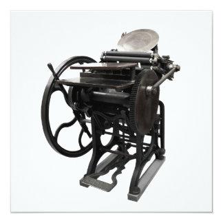 letterpress 1888 invitation