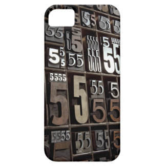 Letterpress 2 iPhone 5 cover
