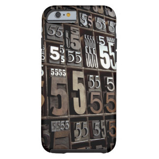 Letterpress 2 tough iPhone 6 case