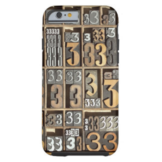 Letterpress 5 tough iPhone 6 case
