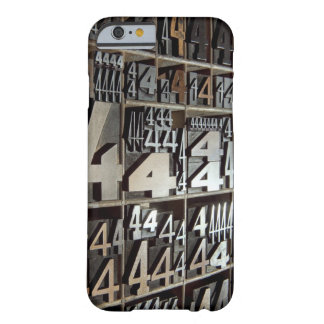Letterpress Barely There iPhone 6 Case