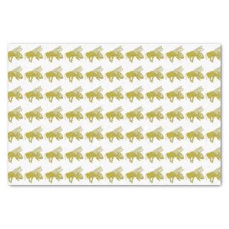 Letterpress Bee Tissue Paper