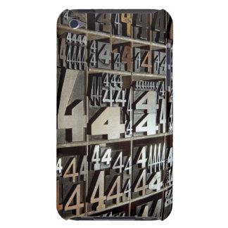 Letterpress iPod Touch Case-Mate Case