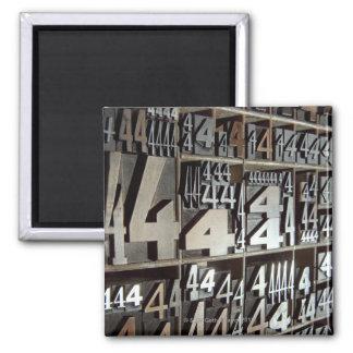 Letterpress Magnet