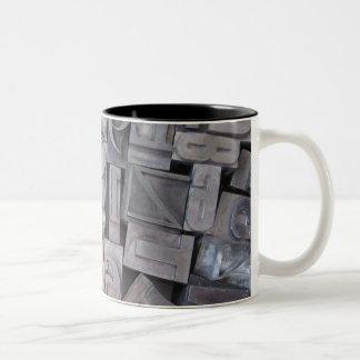 Letterpress Metal Type Mug