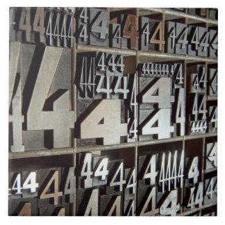 Letterpress Tile