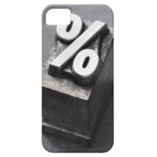 % Letterpress type Barely There iPhone 5 Case