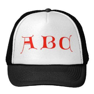 Letters ABC Hat