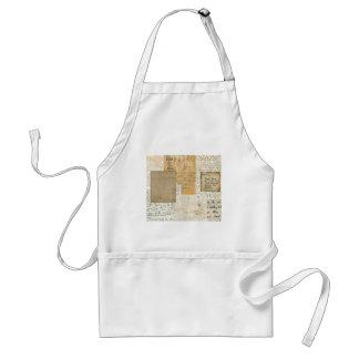 letters apron
