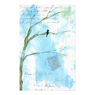 Letters From Home Stationery Collage Design