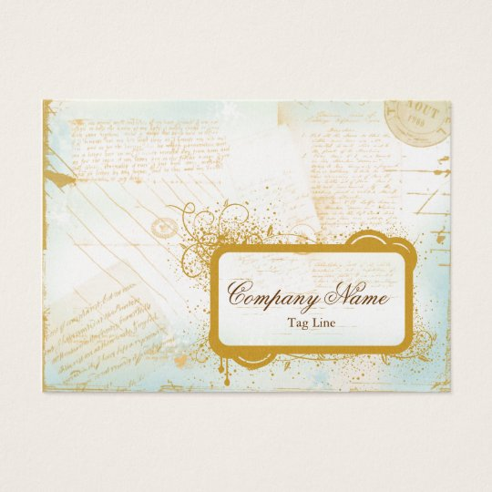 Letters from Paris Business Card