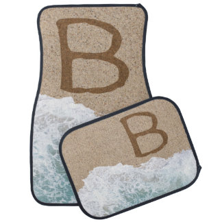 LETTERS IN THE SAND B FLOOR MAT