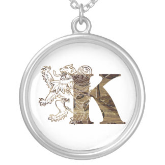 Letters K - Lion King - Necklace