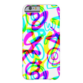 Letters + Numbers Barely There iPhone 6 Case