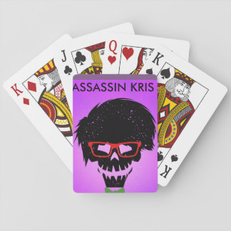letters of assassin kris playing cards