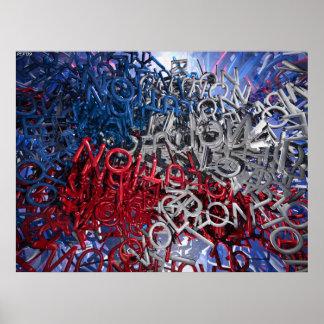 Letters of Revolution Poster