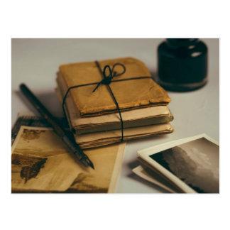 Letters Postcard