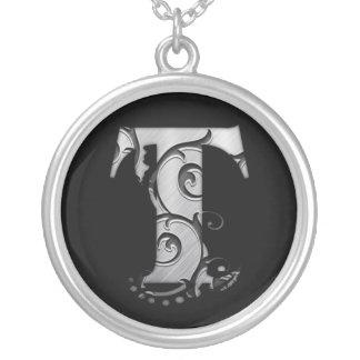 Letters T - Necklace