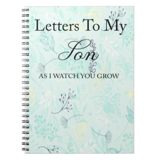 Letters to my son notebook