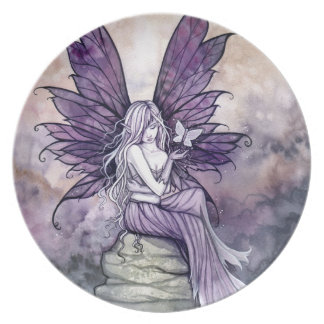 Letting Go Fairy Decorative Plate