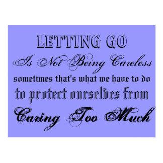 Letting Go Postcard