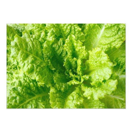 Lettuce 13 Cm X 18 Cm Invitation Card
