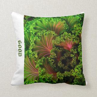 Lettuce designed pillow