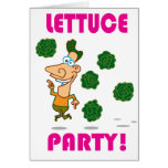 Lettuce PARTY! Cards