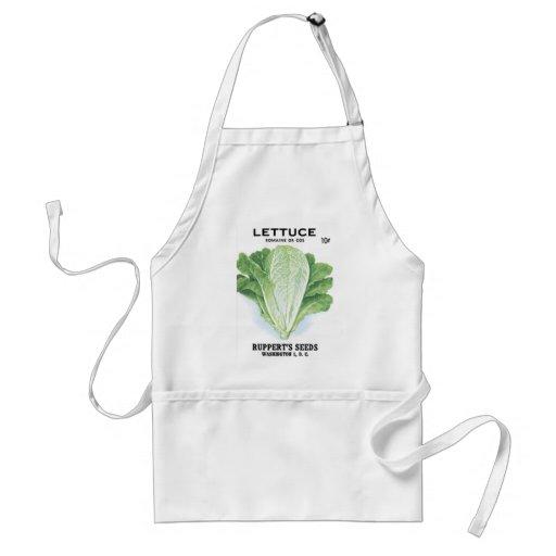 Lettuce Ruppert's Seeds Adult Apron