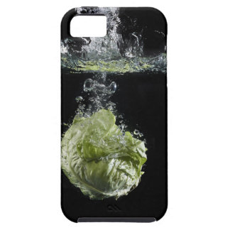 Lettuce splashing in water iPhone 5 cover
