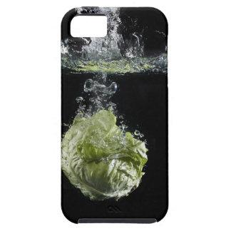Lettuce splashing in water tough iPhone 5 case