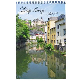Lëtzebuerg 2014 wall calendars