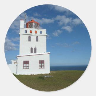 Leuchtturm Round Sticker
