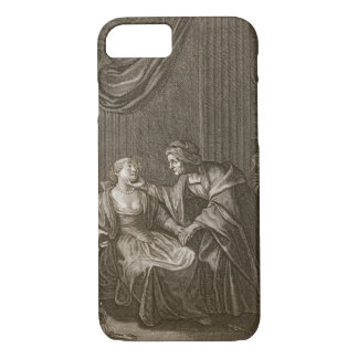 Leucothoe Seduced by Apollo in the Shape of Euryno iPhone 8/7 Case