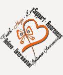 Leukaemia Faith Hope Love Butterfly T-shirts