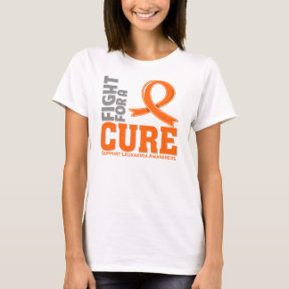 Leukaemia Fight For A Cure (UK Version) T-Shirt