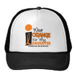 Leukaemia I WEAR ORANGE FOR MY DAUGHTER 9 Trucker Hat
