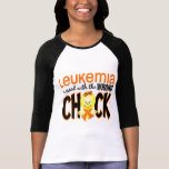 Leukaemia Messed With The Wrong Chick T-Shirt