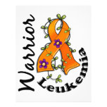 Leukaemia Warrior 15 Full Color Flyer