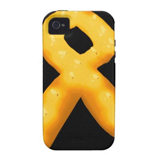 Leukemia Awareness Candle Ribbon iPhone 4 Cover