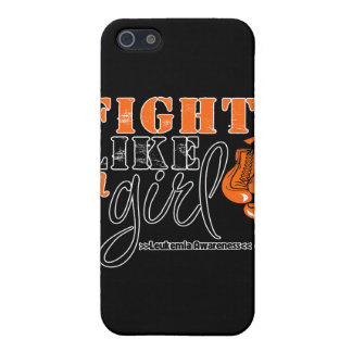 Leukemia Awareness Fight Like a Girl iPhone 5 Cases