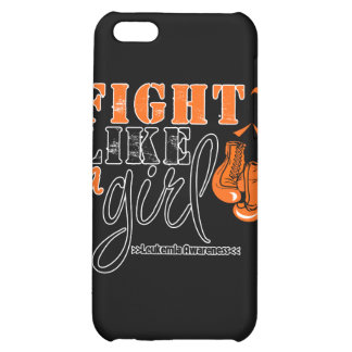 Leukemia Awareness Fight Like a Girl iPhone 5C Cover