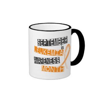 Leukemia Awareness Month September Ringer Mug