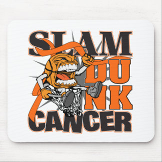 Leukemia Cancer - Slam Dunk Cancer Mouse Pad