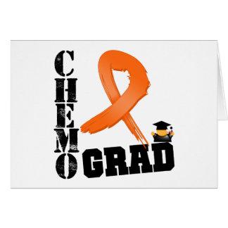 Leukemia Chemo Grad Cards