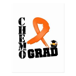 Leukemia Chemo Grad Postcard